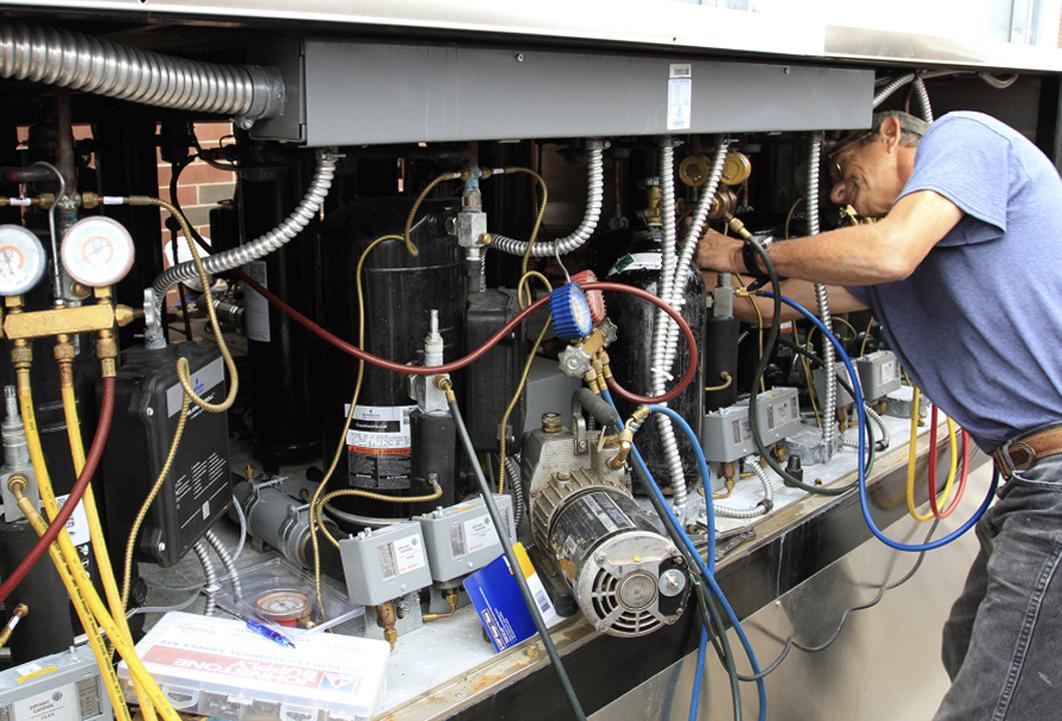 Промышленные кондиционеры ремонт обслуживание установка кондиционера 48